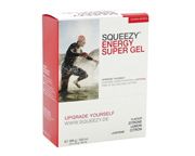 SQUEEZY ENERGY SUPER GEL CON CAFEINA ENERGIZANTE BOX 12 UN LEMON
